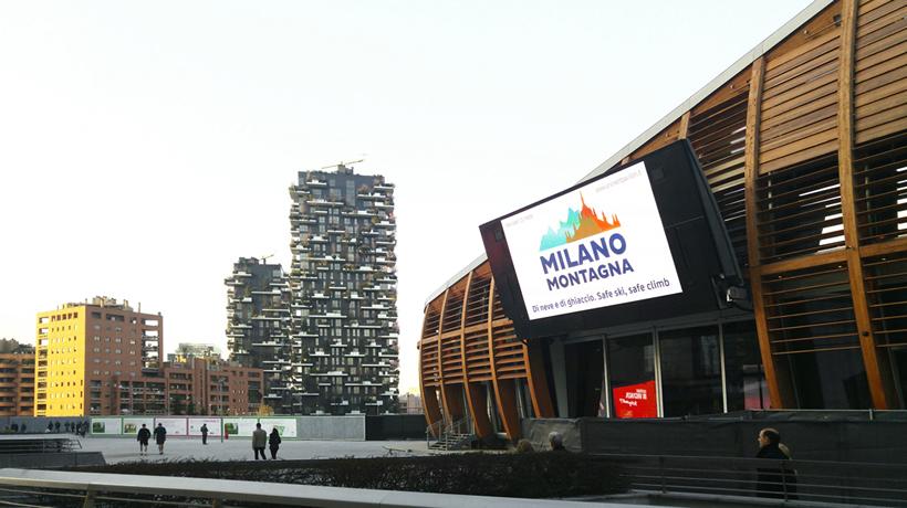 Safe ski, safe climb by Milano Montagna c/o UniCredit Pavilion